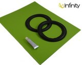 infinity refernce 100 mk2 suspensions haut-parleurs foam surround